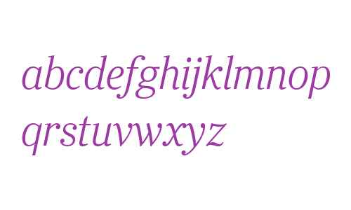 Ysobel Display W04 Light Italic