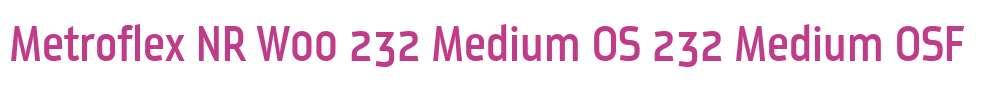 Metroflex NR W00 232 Medium OS