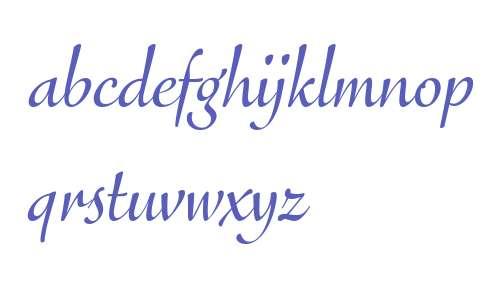 Eggo OT W03 Italic