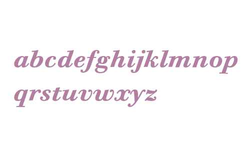 Bodoni Six ITC Bold Italic OS