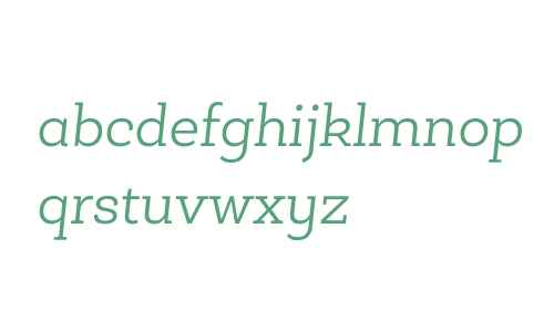 Roble Alt W03 Light Italic