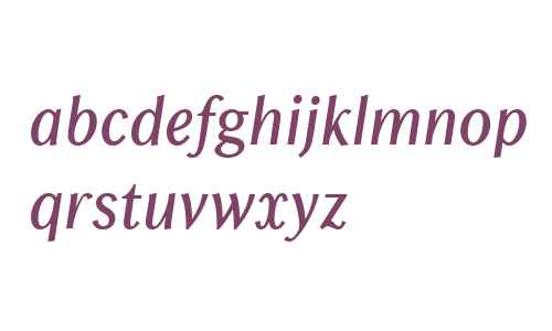 Chong Old Style W01 Italic