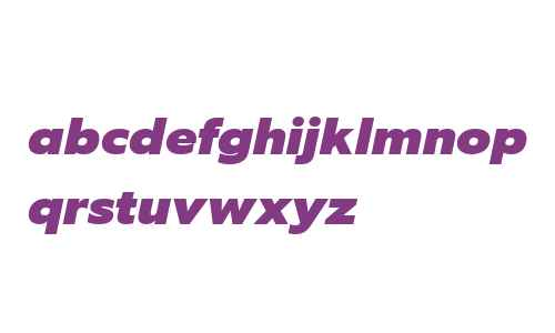 EquipExtended W03 Black Italic
