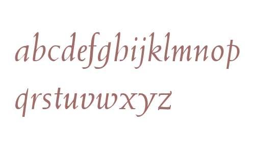 Weiss W03 Italic