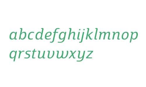 Marintas W01 Regular Italic