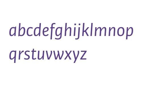 Bulo W03 Regular Italic