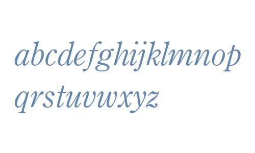 Century OS MT Std Italic