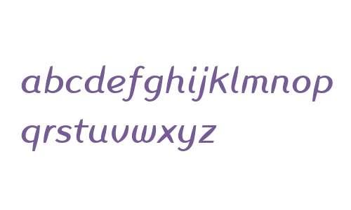 Linotype Inagur W01 Italic