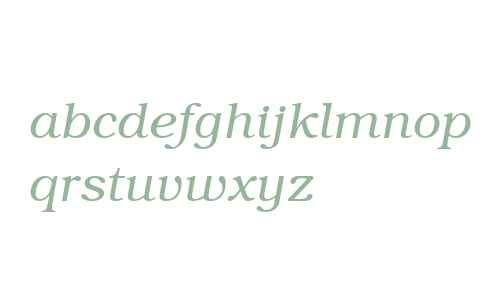 Textbook Light Italic