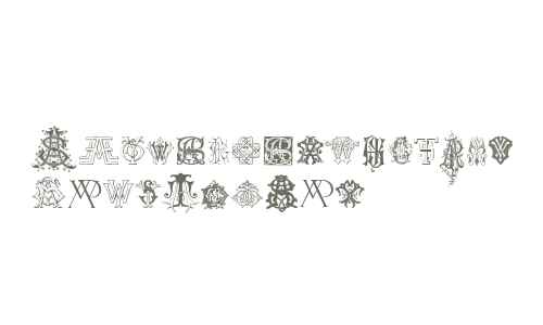 Intellecta Monograms Random Samples Nine
