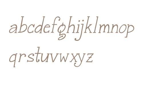 Janda Snickerddl W00 Serif It