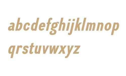 Divulge W00 Condensed Bold It