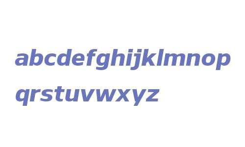 Nauman W00 ExtraBold Italic