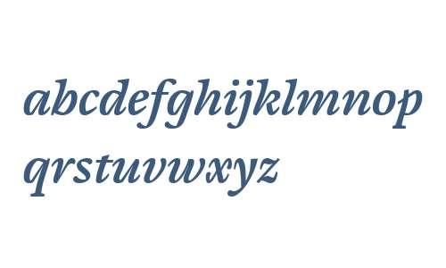 Cardamon W04 Semibold Italic