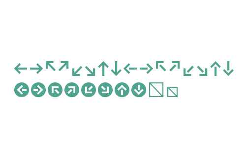 Klavika Arrows Fonts Downloads - OnlineWebFonts COM