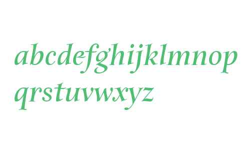 Anima ITC W01 Bold Italic