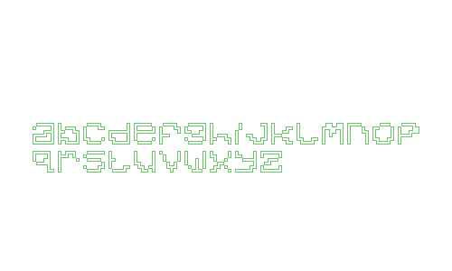 Dead Pixels 8x8 Alternative