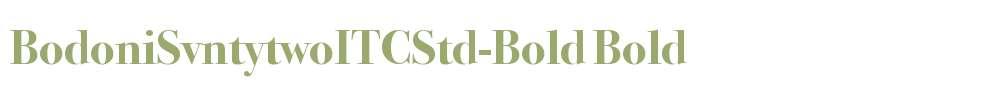 BodoniSvntytwoITCStd-Bold