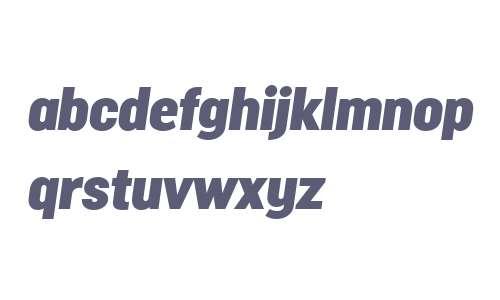 Malmo Sans W00 Headline Oblique