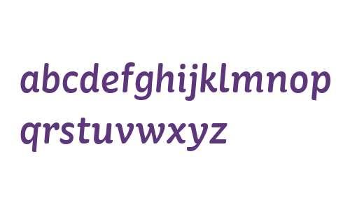 St Ryde W01 Medium Italic