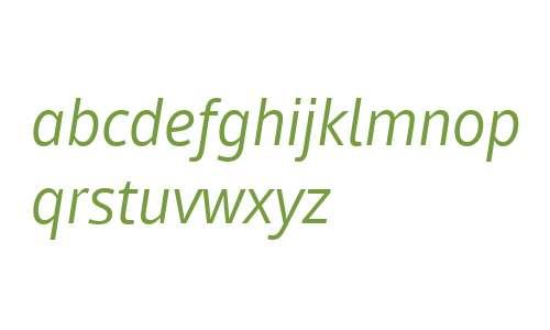 Mayberry W01 Italic