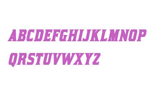 Kirsty Bold Italic V1