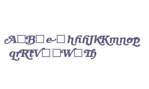 Bookman Swash ITC Demi Italic