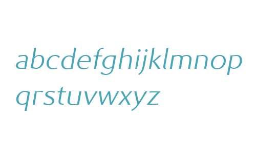 Prell W00 Light Italic