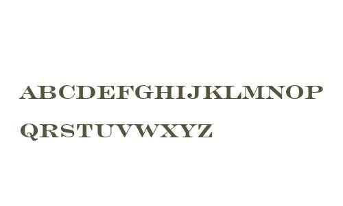 Engravers Roman BT W03 Bd