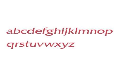 Franco Extended Italic