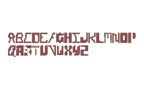 Alien Alphabet Regular