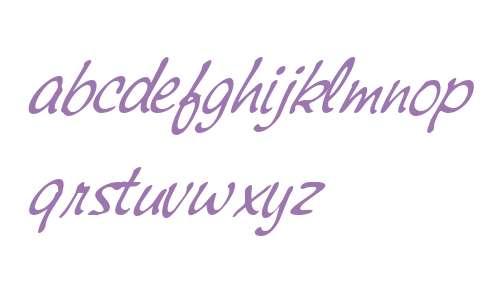Montauk W01 Light Italic