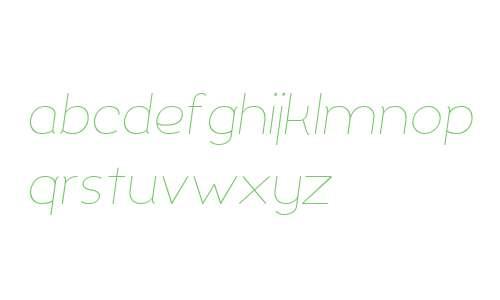 Silo ExtraLight Italic