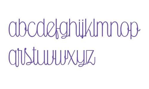 Falkin Script Upright W03 Rg