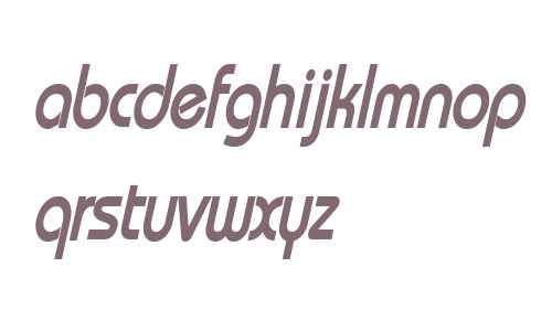 Bimini Condensed Bold Italic