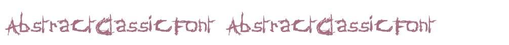 AbstractClassicFont