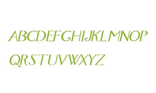 FoxTrot Italic
