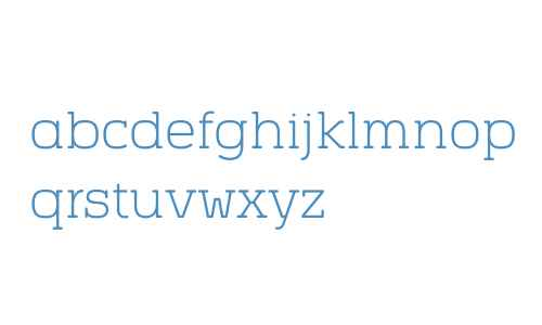 Vezus Serif W01 Light