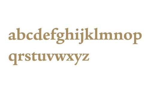 ITC Legacy Serif Std Bold
