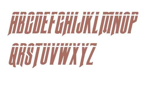 Butch & Sundance Bullet Italic