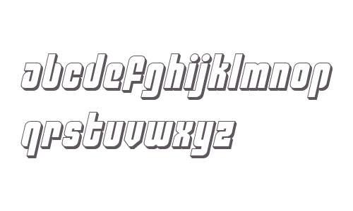 Philadelphia 3D Semi-Italic
