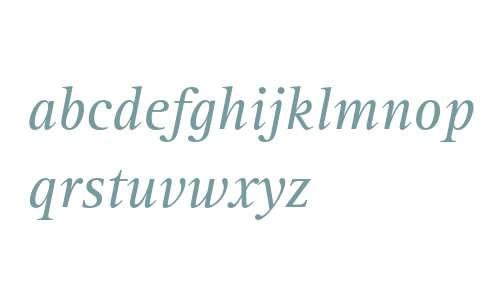 Rotis Serif Italic 56