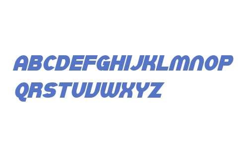 SF Juggernaut Condensed Bold Italic V2 V1