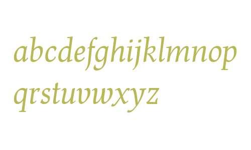 Renner Antiqua LT W04 Italic