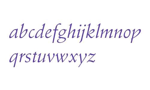 Stempel Schneidler Italic