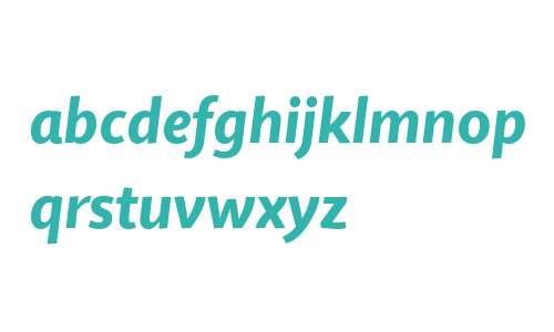 Quire Sans W04 Heavy Italic