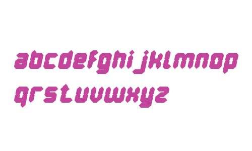 Digital Gothic Bold Italic