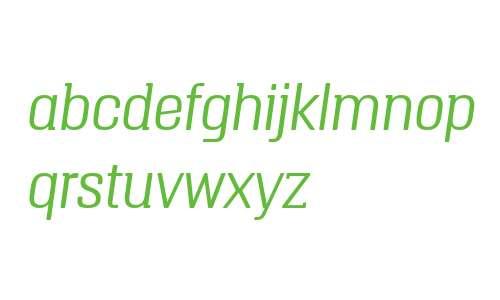 Triump W03 Thin Italic