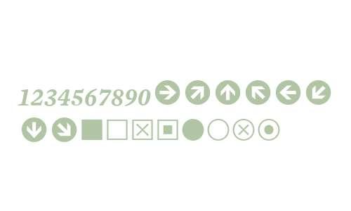 Mercury Numeric G1 Semi Italic