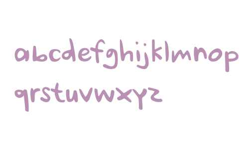 Ursula Handschrift by Letters&Numbers